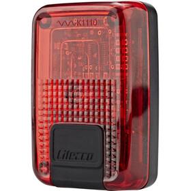 Litecco G-Ray Luce posteriore con funzione di luce di arresto, black/red